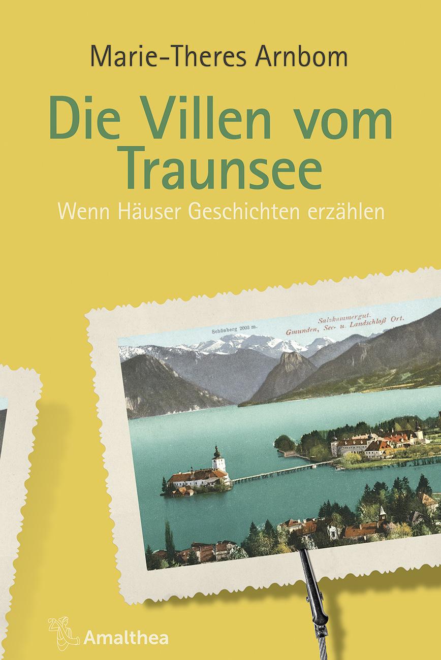 Buchcover Die Villen vom Traunsee