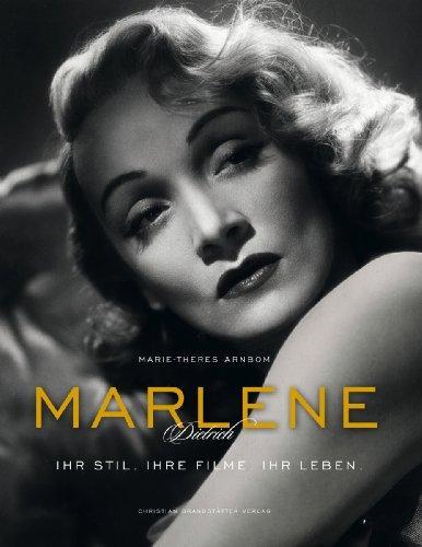 Buchcover Marlene Dietrich