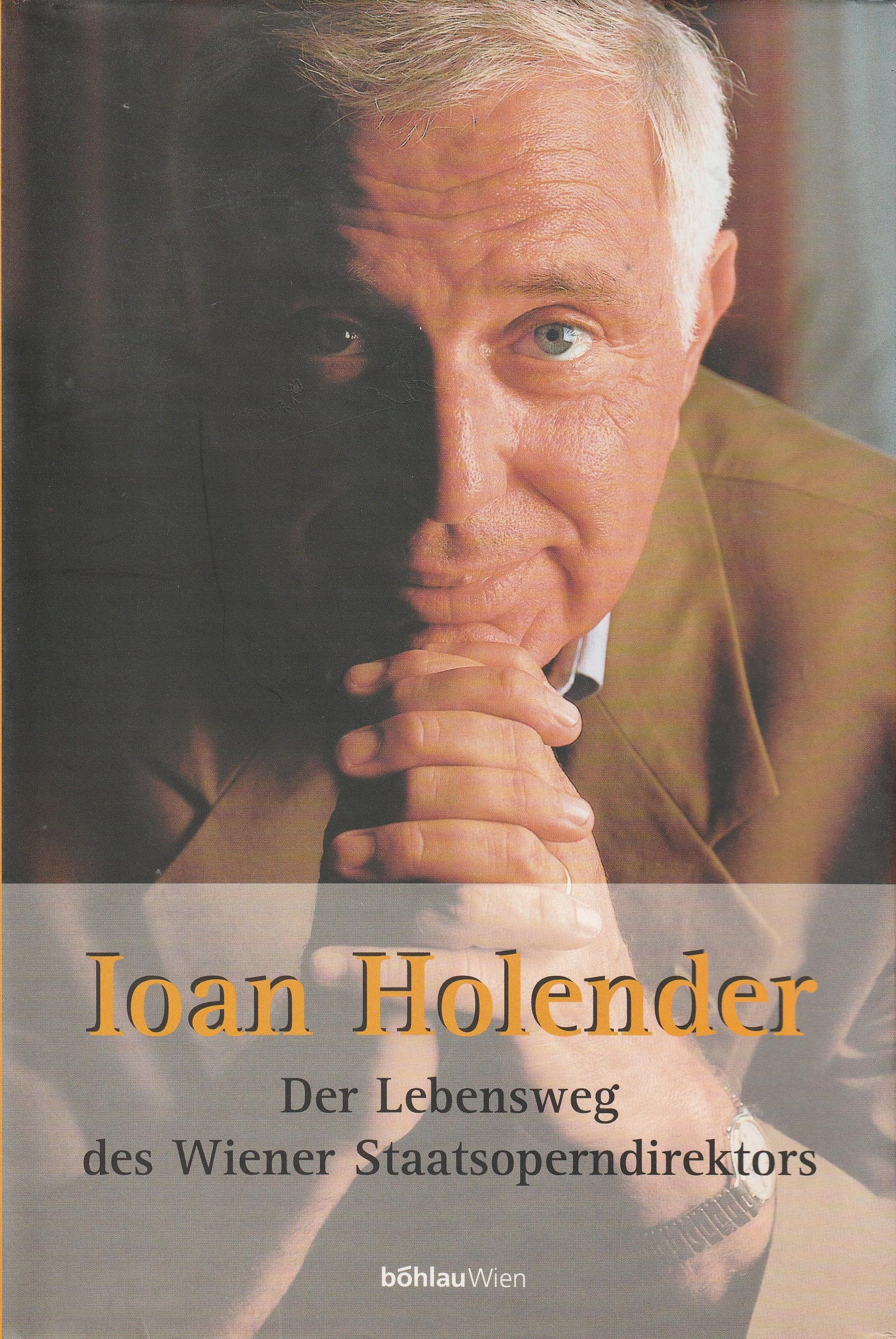 Buchcover Ioan Holender