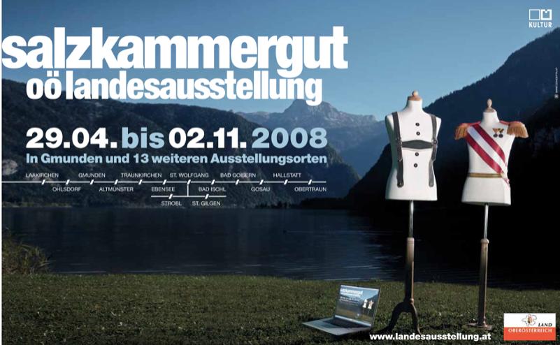 Plakat Landesausstellung OÖ 2008